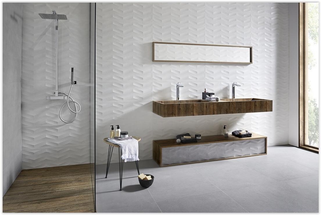 Płytki 3d Pomysłowa Aranżacja łazienki I Kuchni Euro